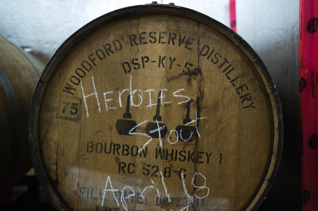 Herbies Stout Barrel April